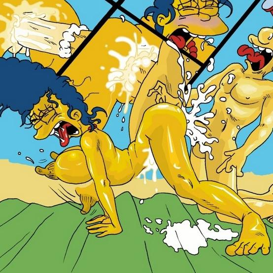 Comic Hentai De Los Simpsons