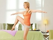 Blonde mature Roxie Doll doing morning exercises naked № 346995 бесплатно