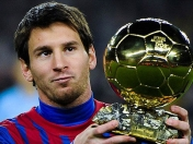 messi por su 4to balón de oro
