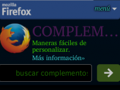Firefox para Android complementos útiles