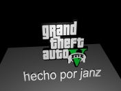 logo gta v en cinema 4d