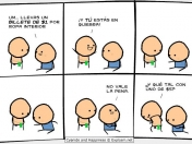 el nuevo video de Cyanide And Happiness y unos comics ;)
