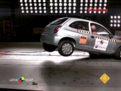 crash test de alguno coches y camionetas