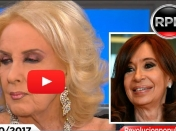 Imperdible, Mirtha quiso pegarle a CFK y destrozó a Carrió