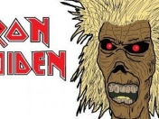 Iron Maiden - Maiden Cartoons - The Number Of The Beast 3/9