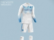"Uniformes de futbol de ""Game o of Thrones"""