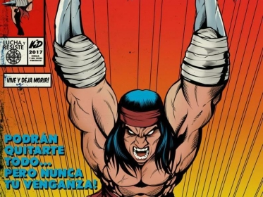 Galvarine, el Wolverine latino: un mapuche super héroe published in Comics