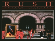 Calendario 2011 Rush, Moving Pictures