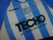 nueva camiseta de racing club de avellaneda
