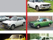 Evolucion de Honda Civic vs Toyota Corolla