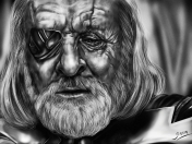 Odin (Anthony Hopkins) [Dibujo digital+Speedpainting]