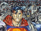 Superman vs Terminator comic completo español