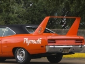 Subastan un Plymout Road Runner Superbird de 1970