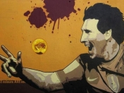 Messi: Espectacular Graffiti