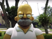 Inauguran estatua de Homero Simpson kill me please