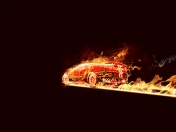 [Photoshop] Coche Flaming