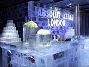 Bar de Hielo Absolut Vodka