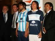 Racing Club-La nueva camiseta