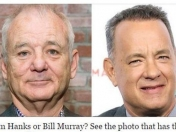 ¿Tom Hanks o Bill Murray? La foto que se hizo viral, mirá