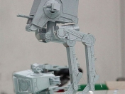 Papeercraft AT-ST (StarWars) recortable de papel