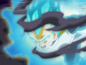 Dragon ball heroes cap 10: Correte Vegeta que estan peleando