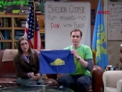 Sheldon Cooper´s Present: Fun With Flags!