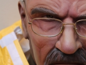 Breaking Bad - Escultura escala real por Monster Labs