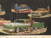 Los autos de Ford de 1957
