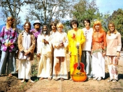 los beatles en la india