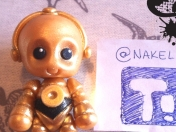 ¡Tutorial C-3PO (Star Wars) en Porcelana fría!