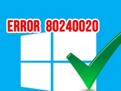 Solución al instalar Windows 10 | Error 80240020