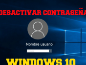 Como desactivar la contraseña de windows 10