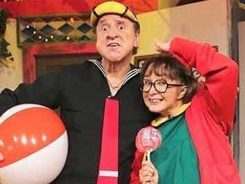 Chespirito y La Chilindrina demandan a Enchufe TV published in Noticias