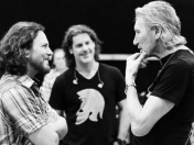 Roger Waters toco con Eddie Vedder