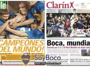Boca vs Real Madrid - Copa Intercontinental 2000