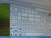 Teclado Virtual  Predictivo (VirtualKeyboard )