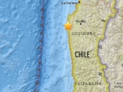 Se registra sismo en chile de 5.9 richter