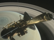 Recien Salido. Video de Cassini entrando a Saturno ...