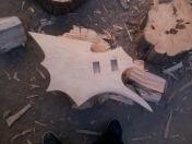 Guitarra death metal casera, tutorial en fotos.