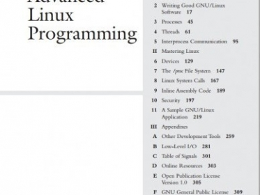 "Descárgate gratis el libro ""Advanced Linux Programming"" published in Linux"