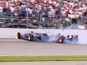 Stan Fox, accidente en Indy 500