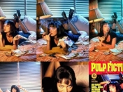 La historia del cartel de Pulp Fiction