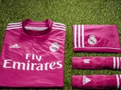 Oficial Camiseta Rosa Real Madrid 2014-2015