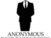 Anonymous cerrará facebook.[Info]