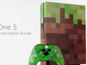 Microsoft presenta la Xbox One S Minecraft Limited Edition