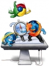 Chrome vs Firefox la batalla por internet