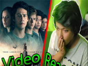 Maze Runner: La cura mortal trailer. Video reaccion