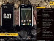 CAT B15 El smartphone de Caterpillar