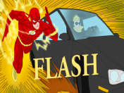 Mi Speed Paint del super heroe Flash!