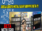 Metal Gear Survive gratis beta!